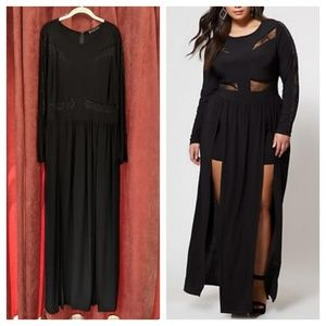 ➕High Slit Maxi Gown➕